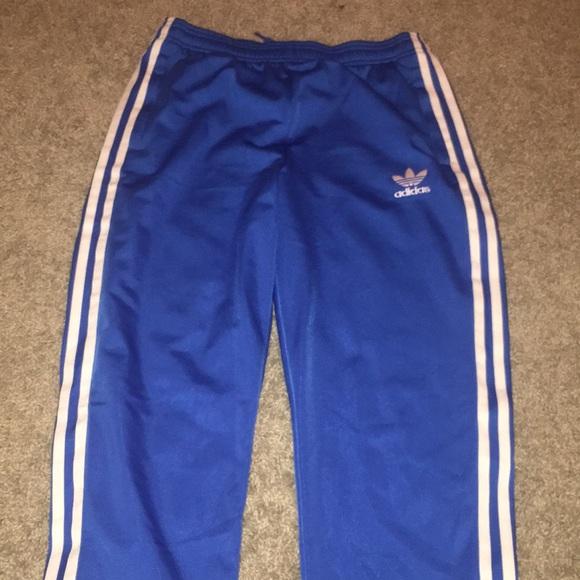 10047ecfa1a9 adidas Pants - Royal blue adidas joggers